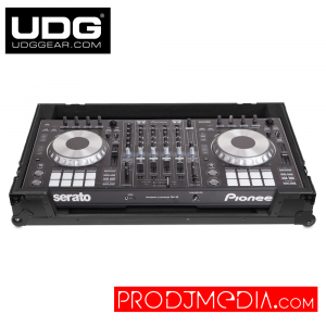 UDG Ultimate Flight Case Pioneer DDJ-RZ/SZ/SZ2/ Numark NS7/ NS7II/ NS7III Black MK2 Plus U91034BL2