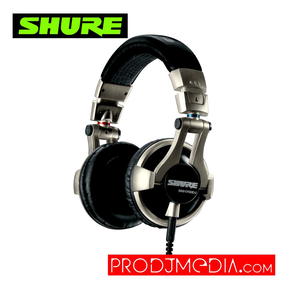 SHURE SRH750DJ Audífonos profesionales de DJ