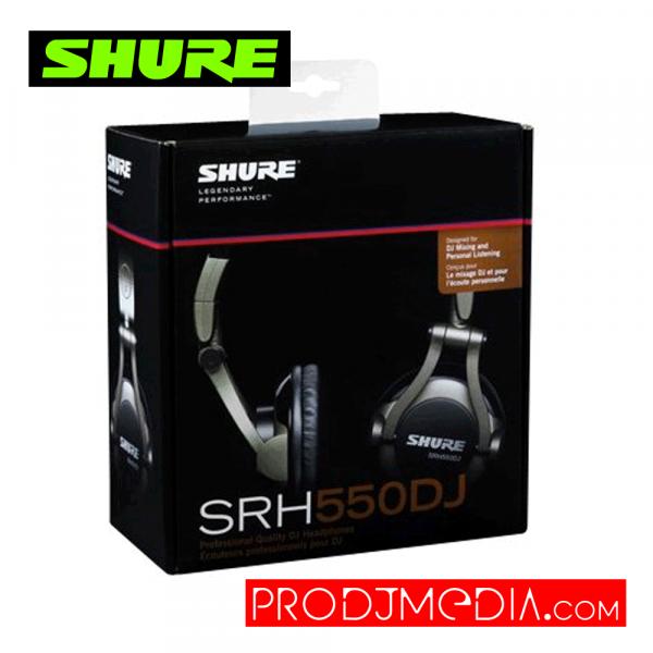 SHURE SRH550DJ Audífonos
