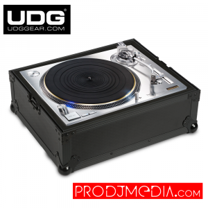 UDG Ultimate Flightcase Multiformat Turntable​ U91030BL