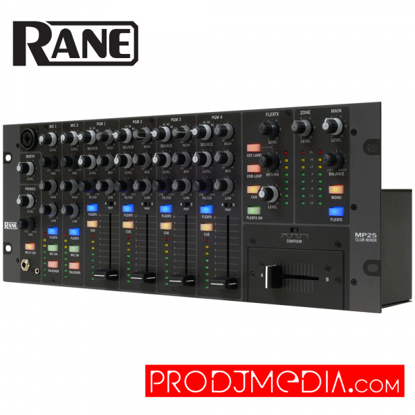 Rane DJ MP25 Club Mixer