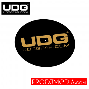 UDG Slipmat Set Black / Golden U9935