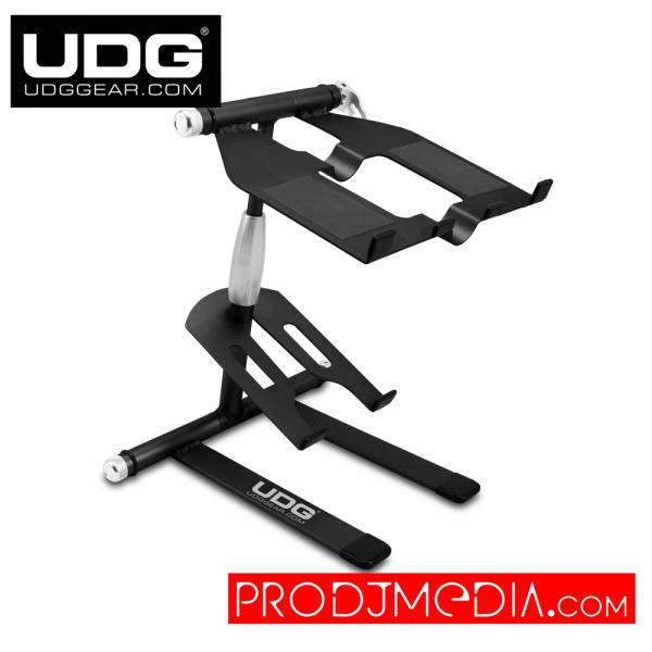 UDG Creator Laptop/Controller Stand Aluminium Black U6010BL