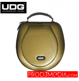 UDG Creator Headphone Case Large Gold PU U8202GD