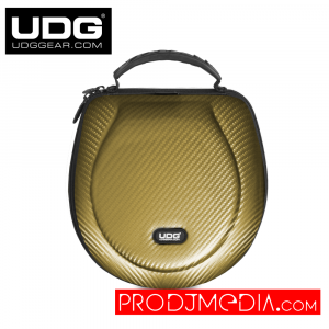 UDG Creator Headphone Case Large Gold PU U8202GD
