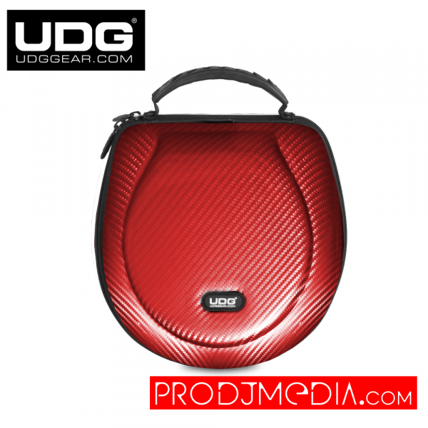 UDG Creator Headphone Case Large Red PU U8202RD