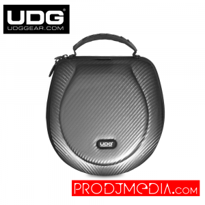 UDG Creator Headphone Case Large Silver PU U8202SL