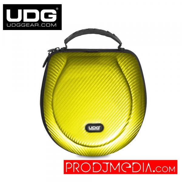 UDG Creator Headphone Case Large Yellow PU U8202YL