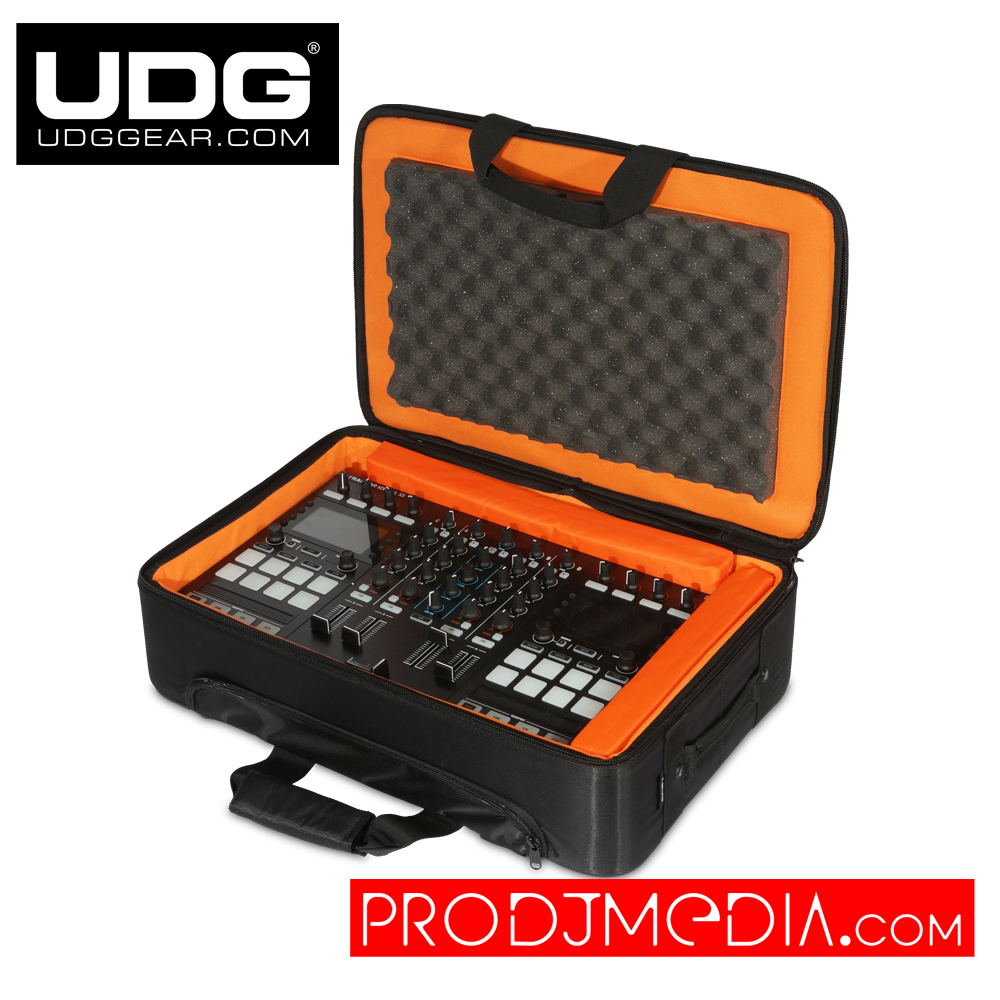 UDG Ultimate MIDI Controller Backpack Small Black/Orange Inside MK2 U9103BL/OR