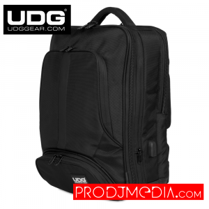 UDG Ultimate Backpack Slim Black/Orange Inside U9108BL/OR