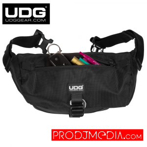 UDG Ultimate Waist Bag Black U9990BL