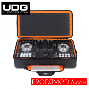 UDG Ultimate MIDI Controller Backpack Large Black/Orange Inside MK2 U9104BL/OR