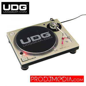 UDG Slipmat Set Black / Silver U9936