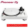 Pioneer DJ Turntable PLX-500-W