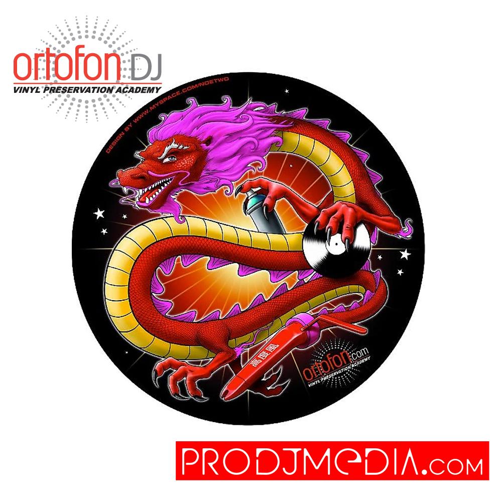 Ortofon DJ Slipmat Dragon Chino edición limitada