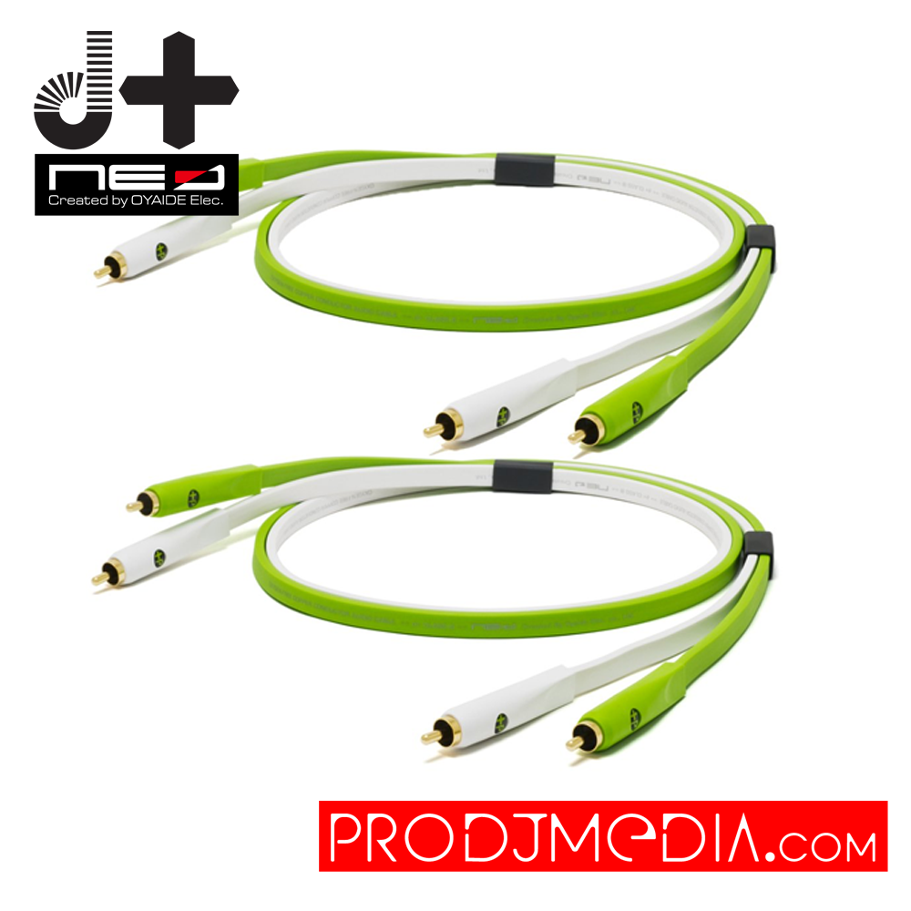 Oyaide NEO d+ Class B RCA DUO Cable 1.0M