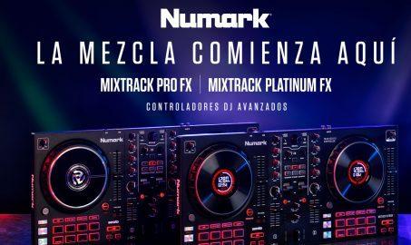 Nuevos Controladores Para Dj Mixtrack Fx De Numark