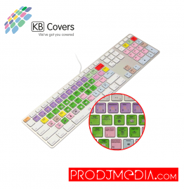 KB Covers Logic Pro 9 Teclado