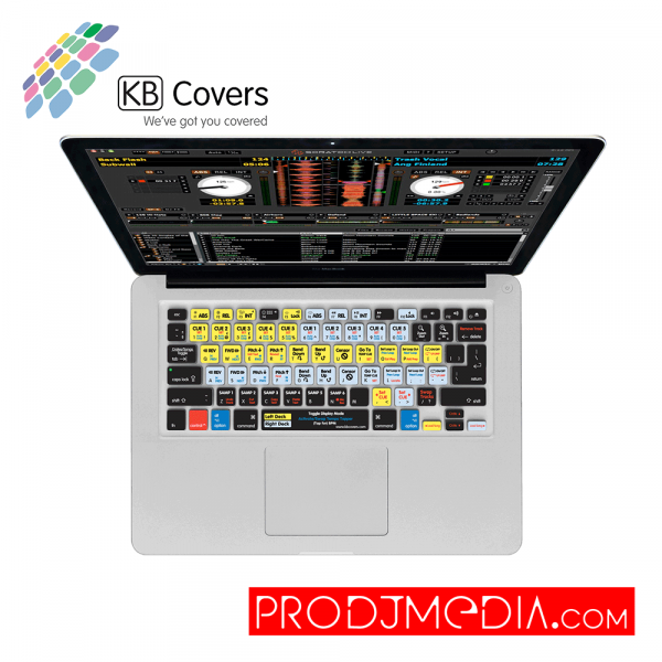KB Covers Serato DJ / Scratch Live Keyboard Cover