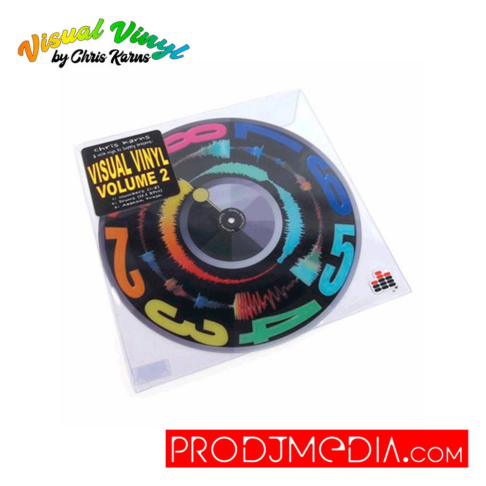 "Visual Vinyl Vol.2 (Black) Vinyl 12"""