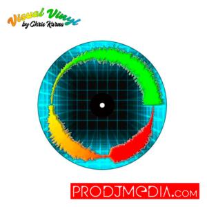 """Visual Vinyl by Chris Karns GRID VOL. 1: SCRATCH RECORD 7"""""""