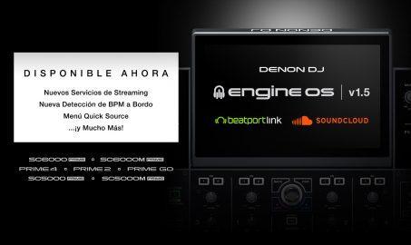 Denon Dj lanza nuevo Update 1.5.1 para Engine OS