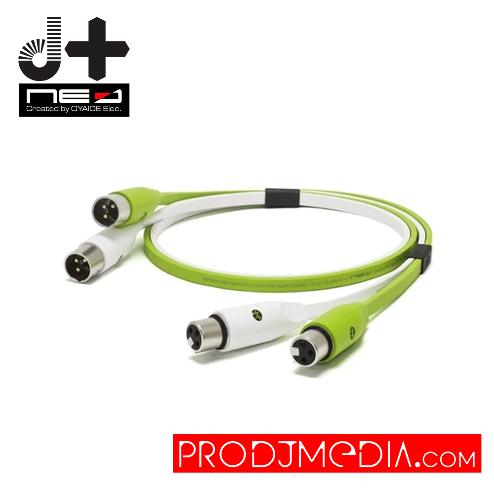 Oyaide NEO d+ Class B XLR Cable 3M