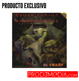 DJ Swamp The Never Ending Breakbeats Vol. 3 2X LP
