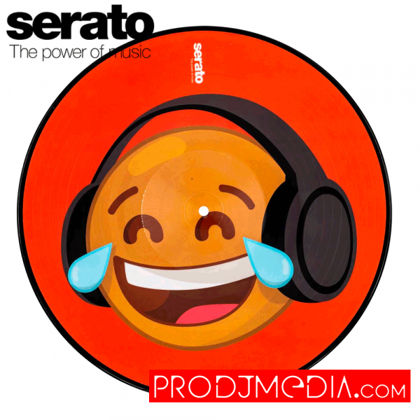 Serato Emoji Series #4 Thinking/Crying Vinilo 12″