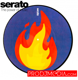 Serato Emoji Series #2 Flame/Record