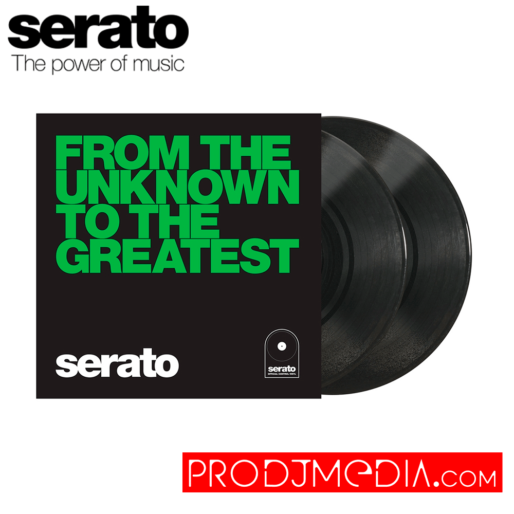 Serato Performance Series Vinilos 10″ – From The Unknown