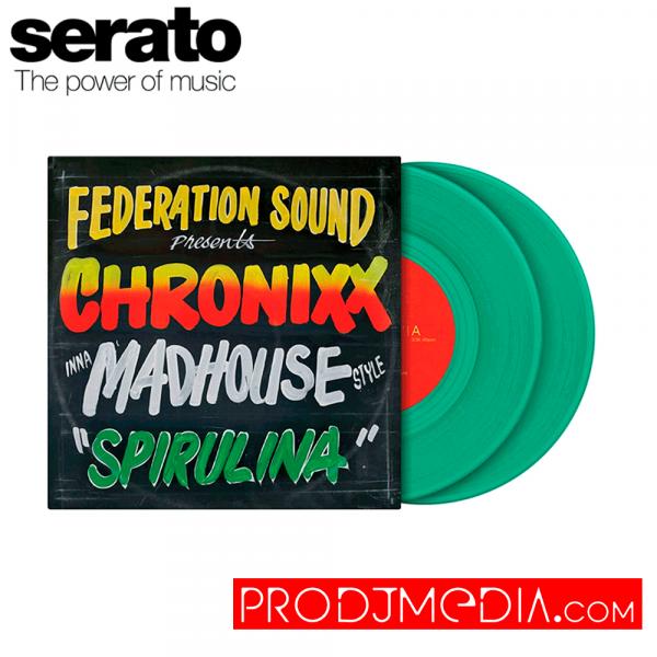 "Serato X FEDERATION SOUND presents CHRONIXX inna MADHOU Vinilo 7"""
