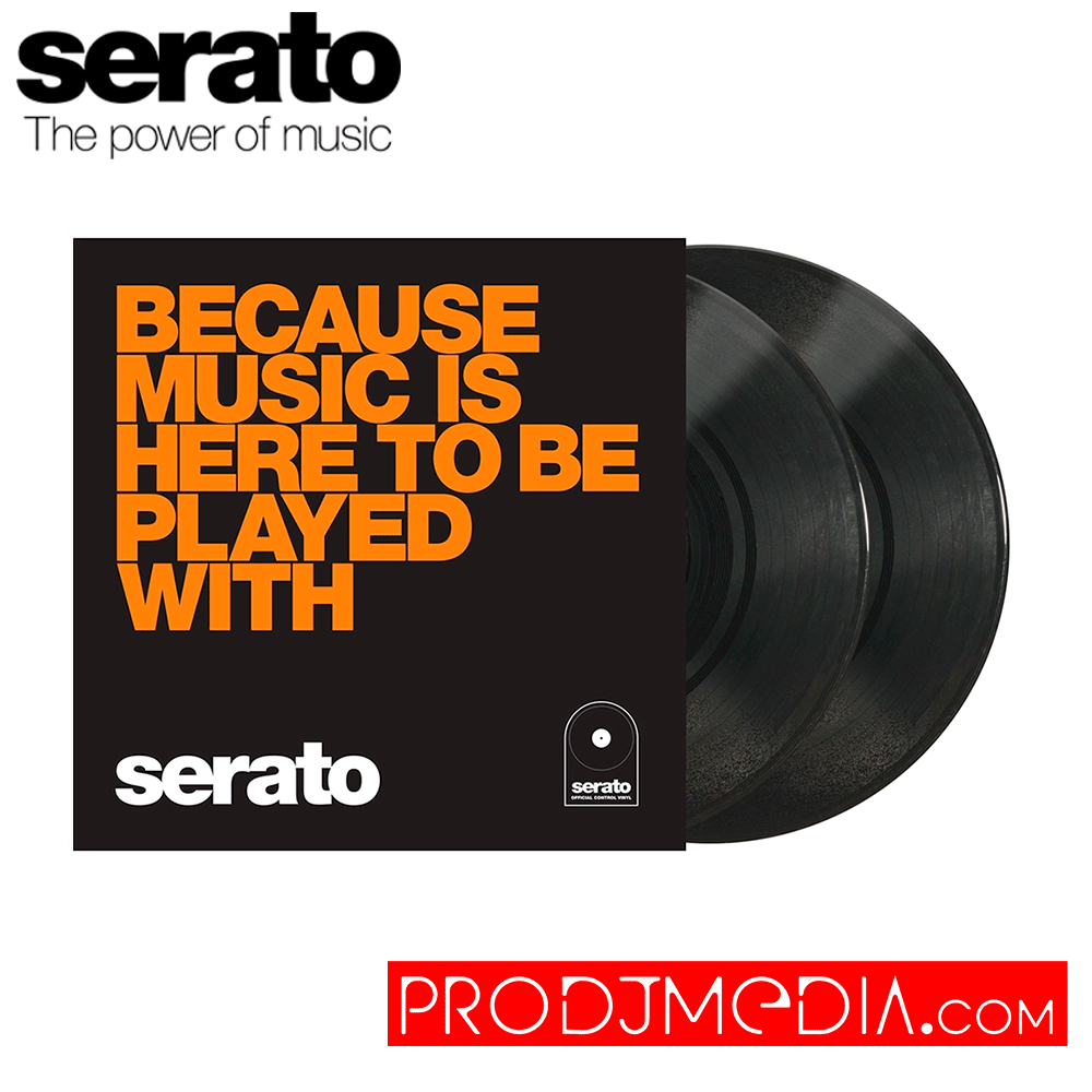 Serato Performance Series Vinilos 10″ – Because Music Is Here To Be Played