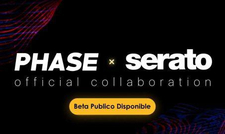 Nueva Integración: Beta público de Phase y Serato DJ Pro ya está disponible.
