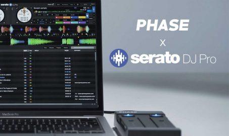 Phase y Serato DJ Pro Integración oficial ya disponible.