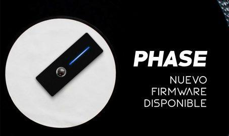 Phase anuncia nuevo Firmware